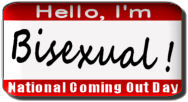 National Coming Out Day: I'm Bisexual!